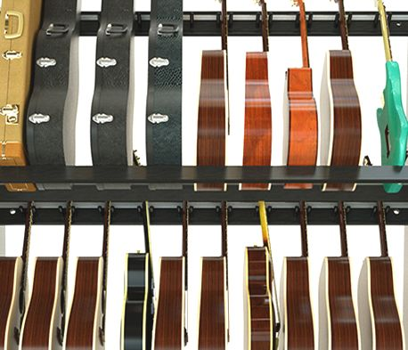 Multi Guitar Shelf Rack