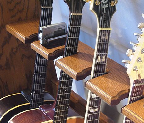 Wood Multiple Guitar Stand