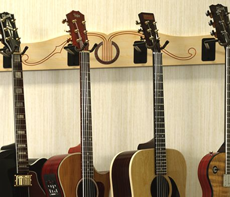 Wall Mounted Guitar Hangers