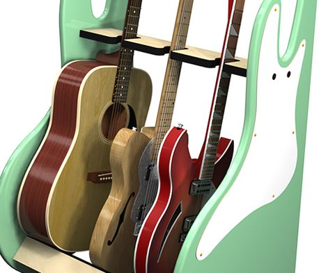 Retro Style Guitar Stands