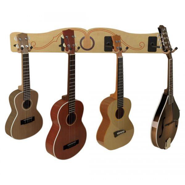 profile ukuelele and mandolin hanger