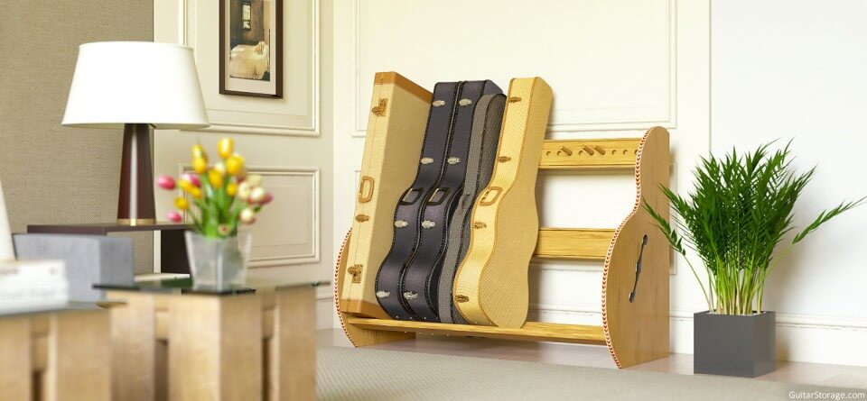Guitar Case Storage Solution