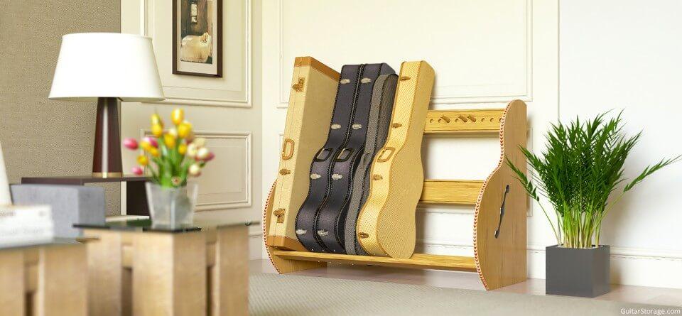 Guitar Case Storage Solution