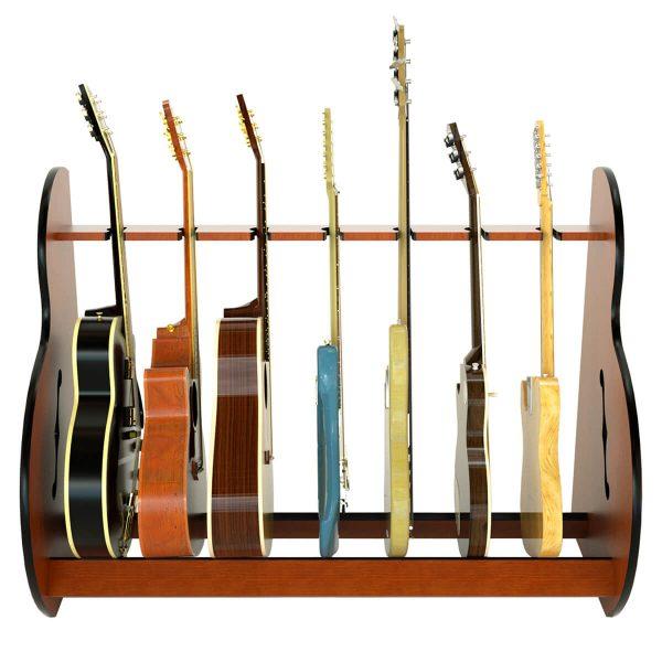 sessin wood multi guitar stand
