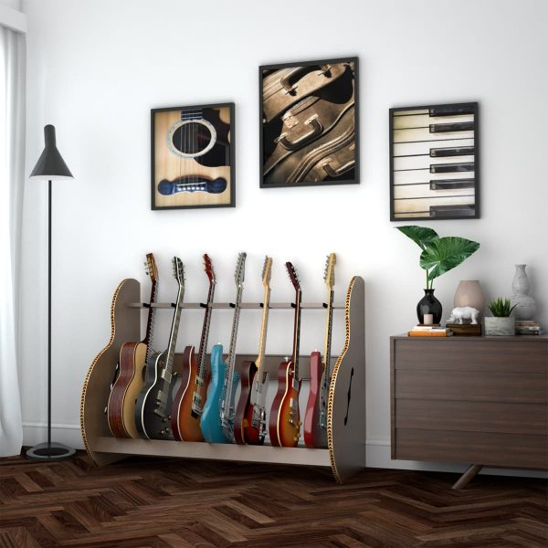 session deluxe multi guitar stand SESXW7