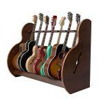 7 Instrument Stand Walnut
