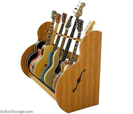 Deluxe Multi Guitar Stand