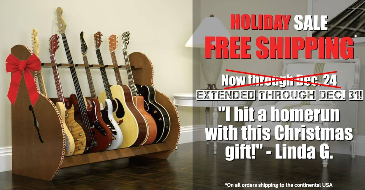 Guitar Storage Holiday Sale
