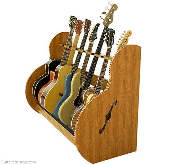 guitar and case storage for musicians and collectors. Black Bedroom Furniture Sets. Home Design Ideas