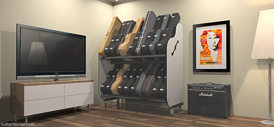 Guitar Shelf System