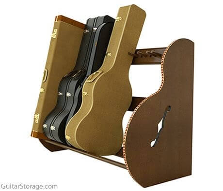 Guitar And Case Storage For Musicians And Collectors