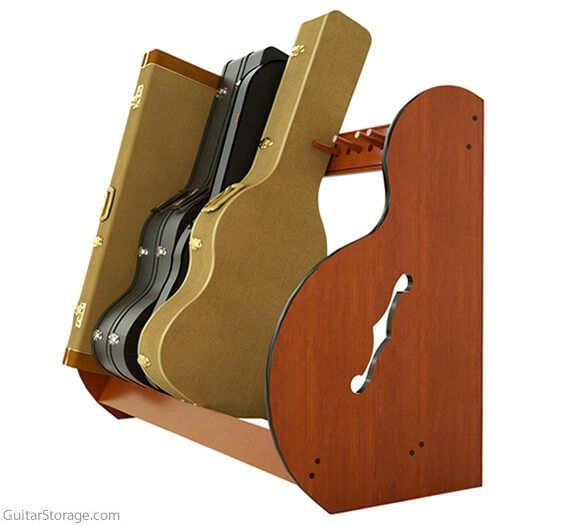 Studio Standard Guitar Case Storage Rack