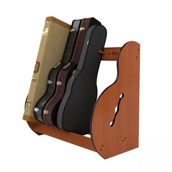 small studio guitar case storage