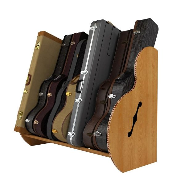 studio deluxe red oak guitar case storage STUXRO