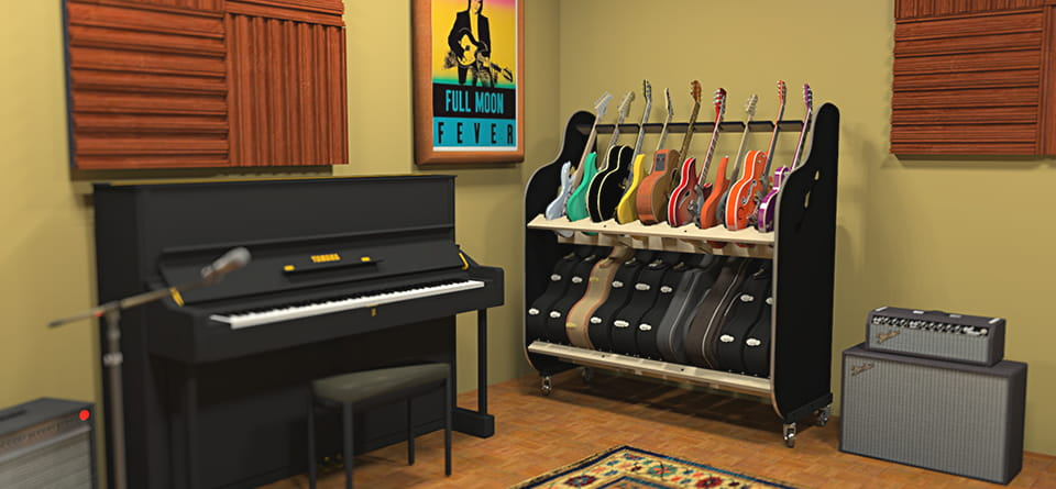 Music Studio Organizer