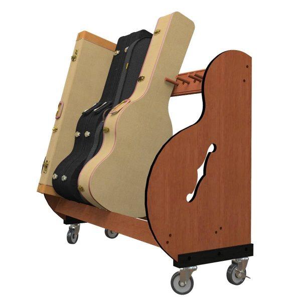 studio standard rack with wheel kit