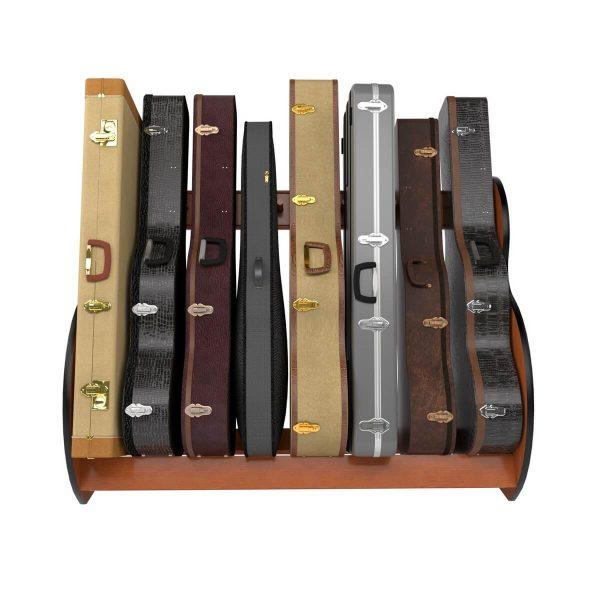 studio standard guitar case storage rack