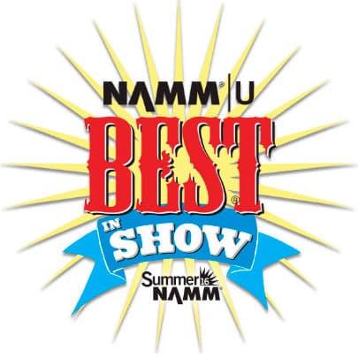 summer namm best in show logo