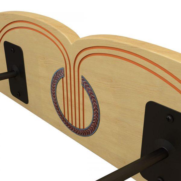 ukulele holder inlay