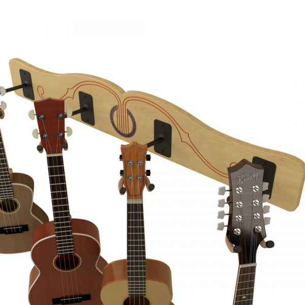 ukulele wall mount hooks