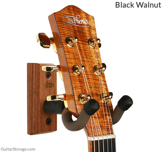 walnut wall mount